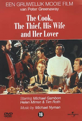 The cook, the thief, his wife and her lover / written and dir. by Peter Greenaway