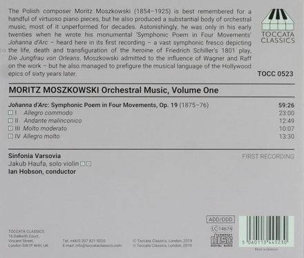 Orchestral music. Volume one