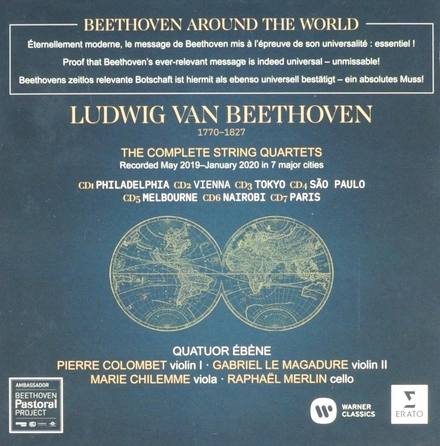 Beethoven around the world : the complete string quartets