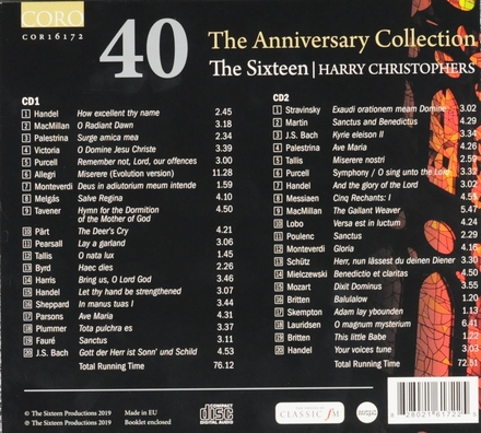 40 : The anniversary collection