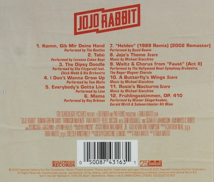 Jojo rabbit : original motion picture soundtrack