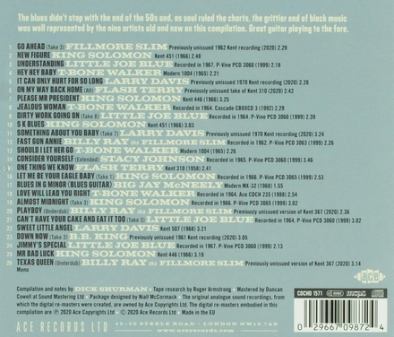 Dirty work going on : Kent & Modern Records : blues into the 60's. Vol. 1