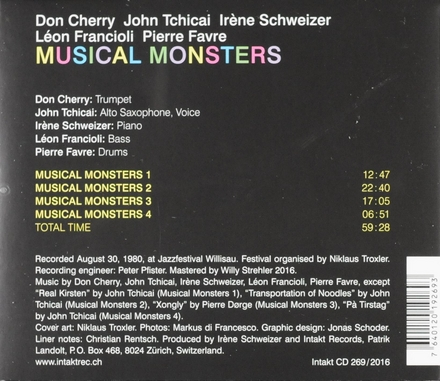 Musical monsters