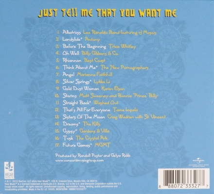 Just tell me that you want me : a tribute to Fleetwood Mac