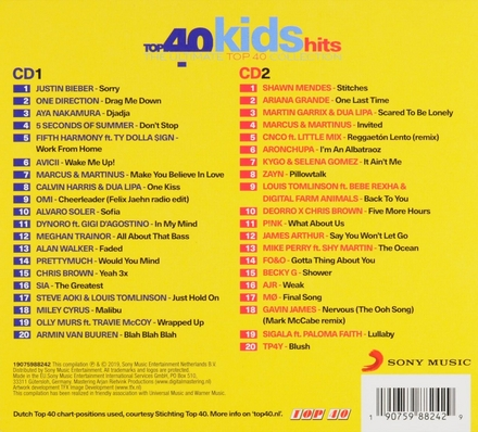 Top 40 kids hits : the ultimate top 40 collection