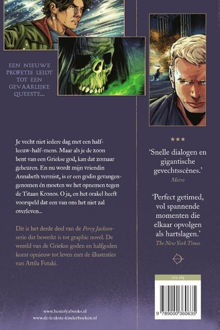 De vloek van de Titaan : graphic novel