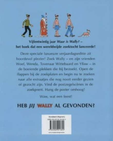 Waar is Wally ? : jubileumboek