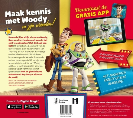Woody's avontuur in Augmented Reality