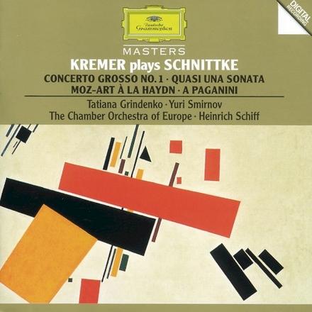 Concerto grosso nr. 001 voor 2 violen, clavecimbel, prepared piano en strijkers, 1977