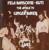 Fela with Ginger Baker live !
