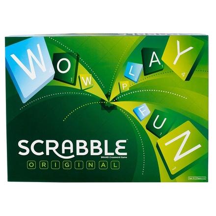 Scrabble Original : wettig gedeponeerd kruiswoordpuzzelspel