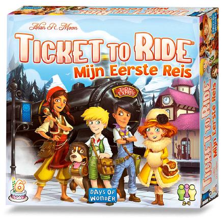 Ticket to ride : Mijn eerste reis
