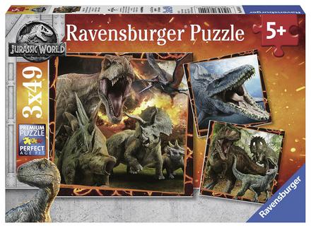 Puzzel Jurassic World 3x49st