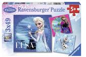 Puzzel Frozen (3 x 49 stuks)