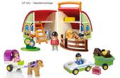 Playmobil 1-2-3 : mijn meeneem manege