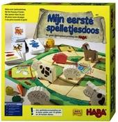 Mijn eerste spelletjesdoos : de grote spelletjesverzameling van Haba