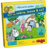 Waar zijn zebra, leeuw en co?