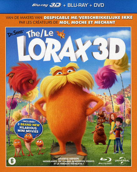 Dr. Seuss' the Lorax 3D
