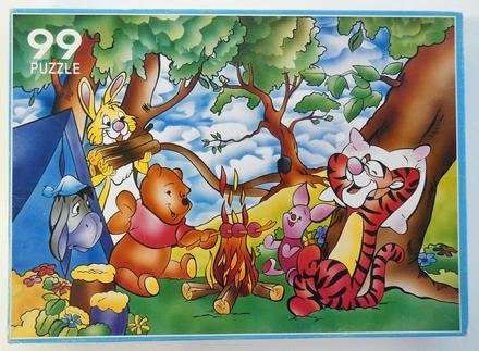 Puzzel Winnie the Pooh