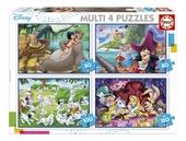 Disney Multi 4 puzzles