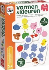 Ik leer vormen & kleuren : Kleuren benoemen, vormen & silhouetten herkennen, verbanden leggen, woordenschat vergrot...