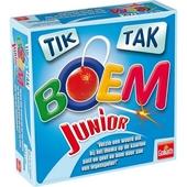 Tik tak boem junior : verzin een woord dat bij het thema op de kaarten past en geef de bom door aan een tegenspeler...