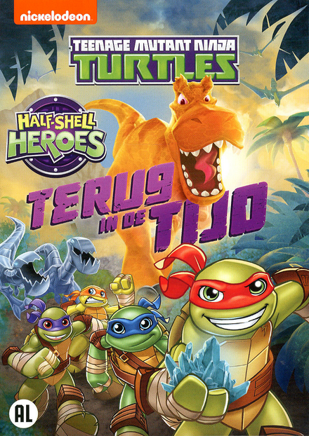 Teenage mutant ninja turtles : half-shell heroes : terug in de tijd