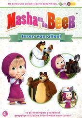 Masha en de beer leren van alles!
