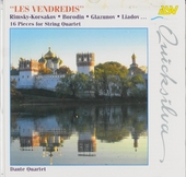 Les vendredis : 16 pieces for string quartet