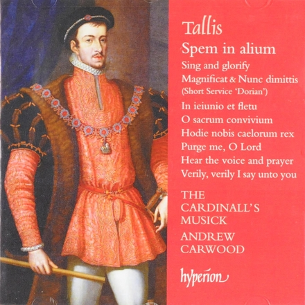 Spem in alium and other choral works