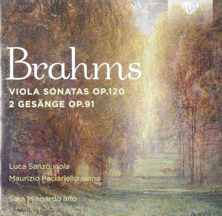 Viola sonatas op.120