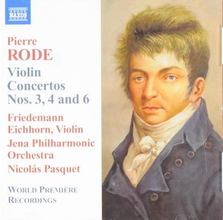 Violin concertos nos.3, 4 and 6