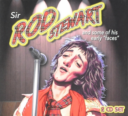 Sir Rod Stewart and some of his early faces