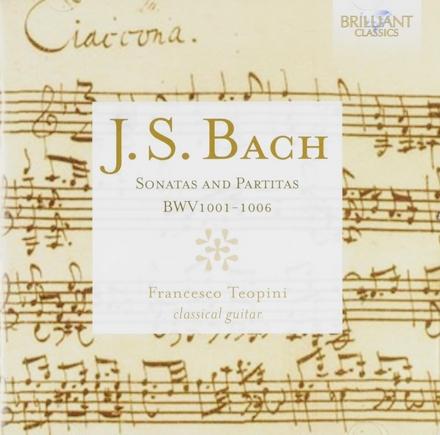 Sonatas and partitas BWV1001-1006