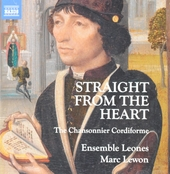 Straight from the heart : the Chansonnier Cordiforme
