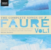 The complete songs of Fauré. vol.1