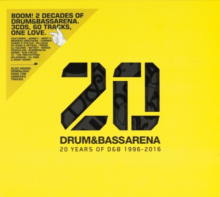 20 drum & bassarena : 20 years of d&b 1996-2016