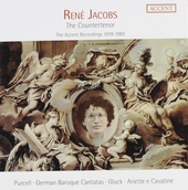 René Jacobs : The countertenor - The Accent recordings 1978-1982