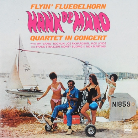 Flyin' flugelhorn : Hank de Mano Quartet in concert