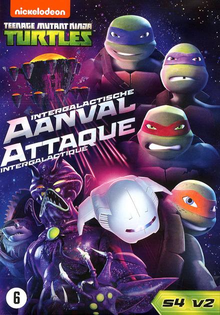 Teenage Mutant Ninja Turtles : intergalactische aanval. Seizoen 4, Volume 2