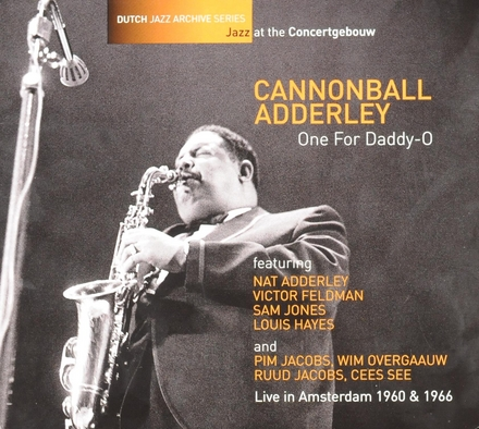 One for Daddy-O : live in Amsterdam 1960 & 1966
