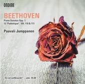 """Piano sonatas op.7 & 13 """"Pathétique"""""""