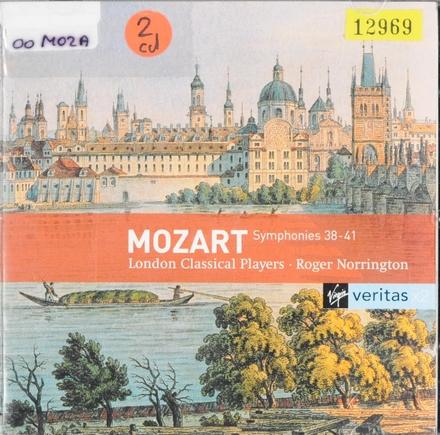 Symphonies 38-41