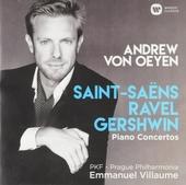 Piano concertos : Saint-Saëns, Ravel, Gershwin