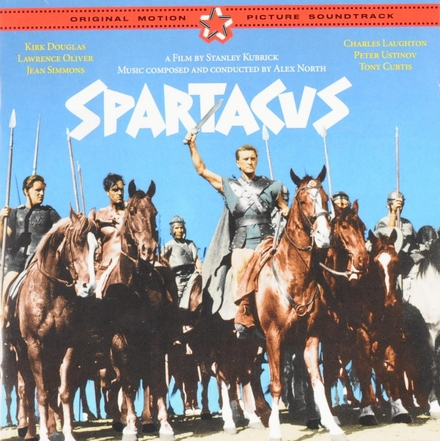 Spartacus : original motion picture soundtrack