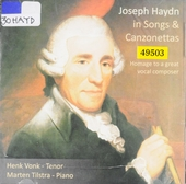 Joseph Haydn in songs & canzonettas : Homage to a great vocal composer