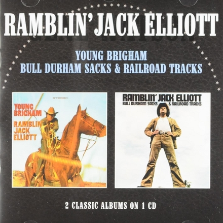 Young Brigham ; Bull Durham sacks & railroad tracks