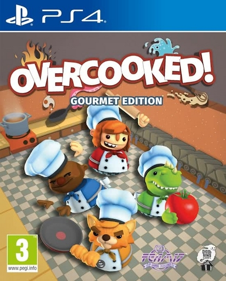 Overcooked! : gourmet edition