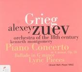 Piano concerto in a minor, op.16