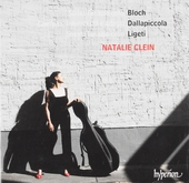 Bloch • Dallapiccola • Ligeti